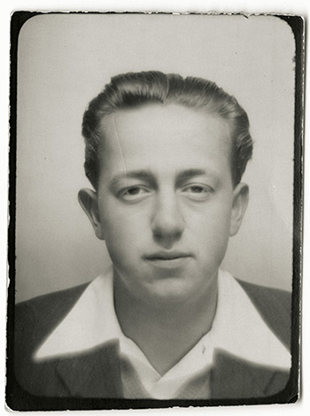 An undated photo of George Brownfiled, the author's father