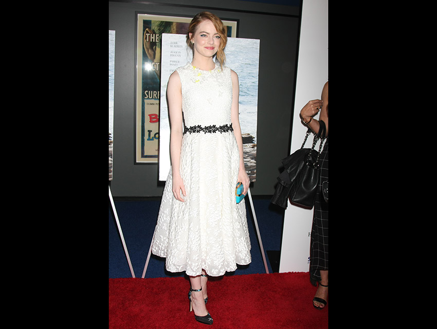 Emma Stone at the Irrational Man premiere in L.A.