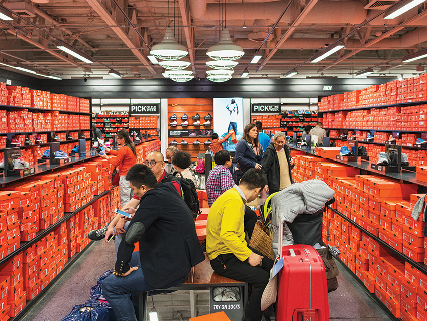 Unburdened by tariffs they face in China, shoppers will fill suitcases with goods