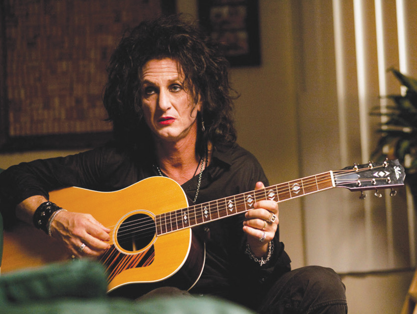 """Sean Penn, as a glam star past his prime in Sorrentino's """"This Must Be the Place"""""""