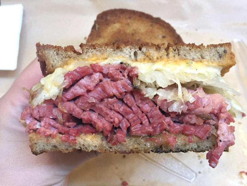 Imagine the homemade Reuben possibilities with pastrami by the pound