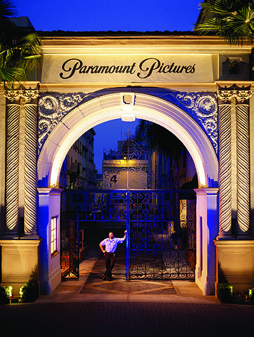 Gate at Paramount Studios in Hollywood