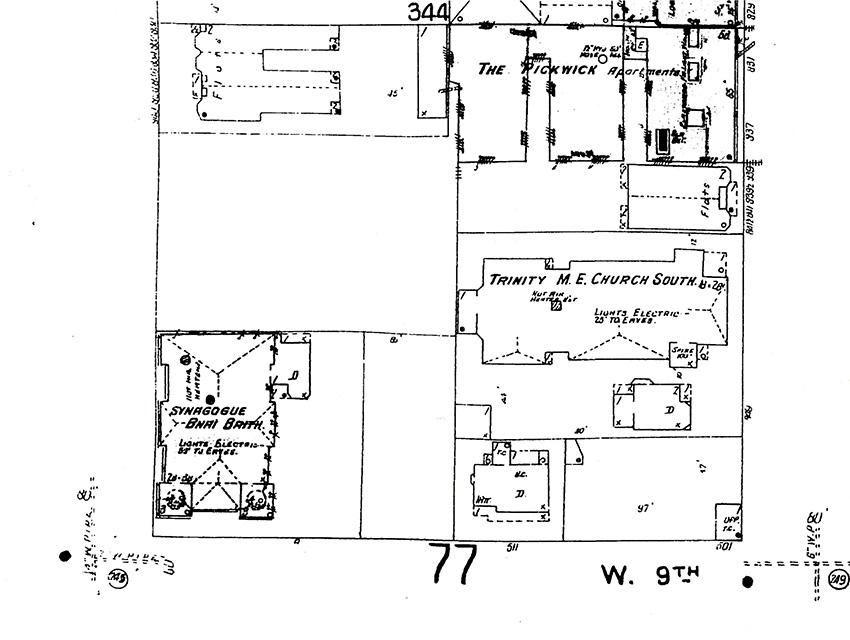 Sanborn Fire Insurance Atlases, Volume 1 sheet 64 1909