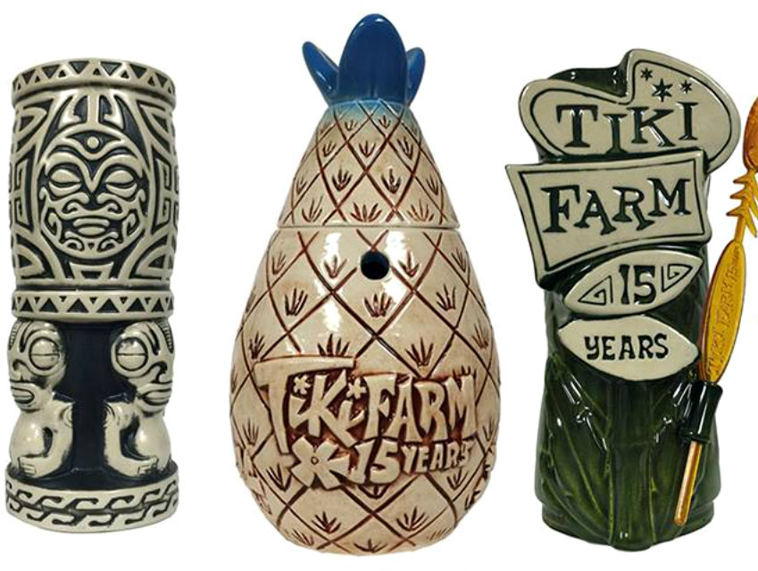 Tiki mugs are now post-pop culture, still hold drinks well