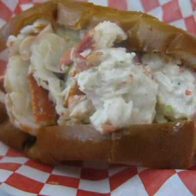 Lobsta Truck lobster roll
