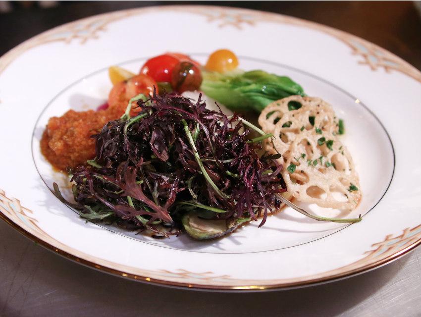 Golden Globes Food Salad