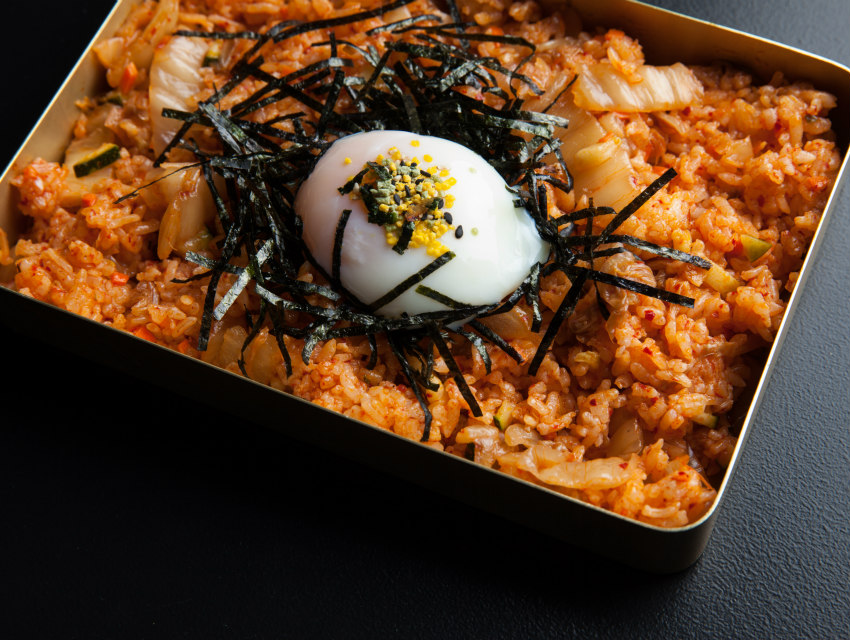 Kimchi fried rice from Hanjip