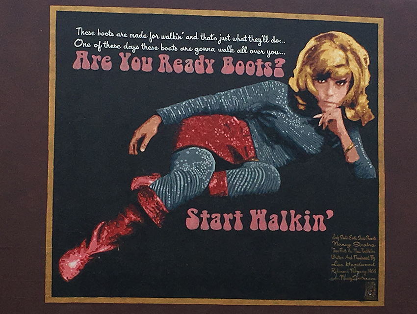 "f934909fae2 Nancy Sinatra Talks ""These Boots Are Made for Walkin "" on the Eve of Its  Golden Anniversary"