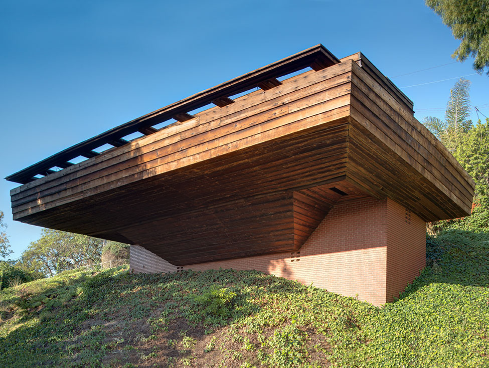 Frank Lloyd Wright House Los Angeles: Superman Star Donates His Frank Lloyd Wright Home To