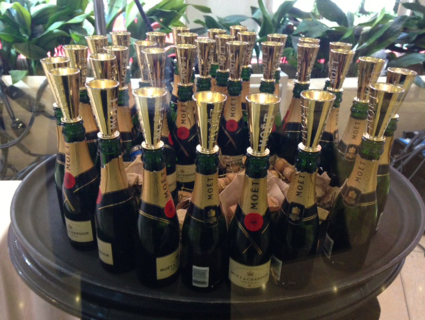 Empties on the red carpet