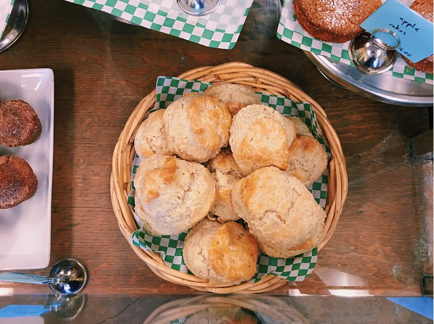 The biscuits are a favorite among regulars