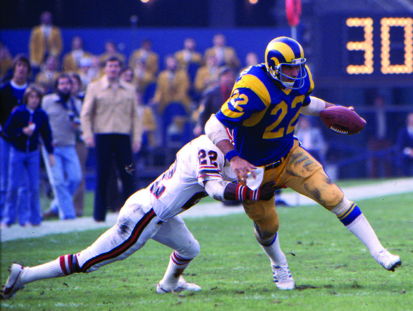 Rams running back John Cappelletti in 1977