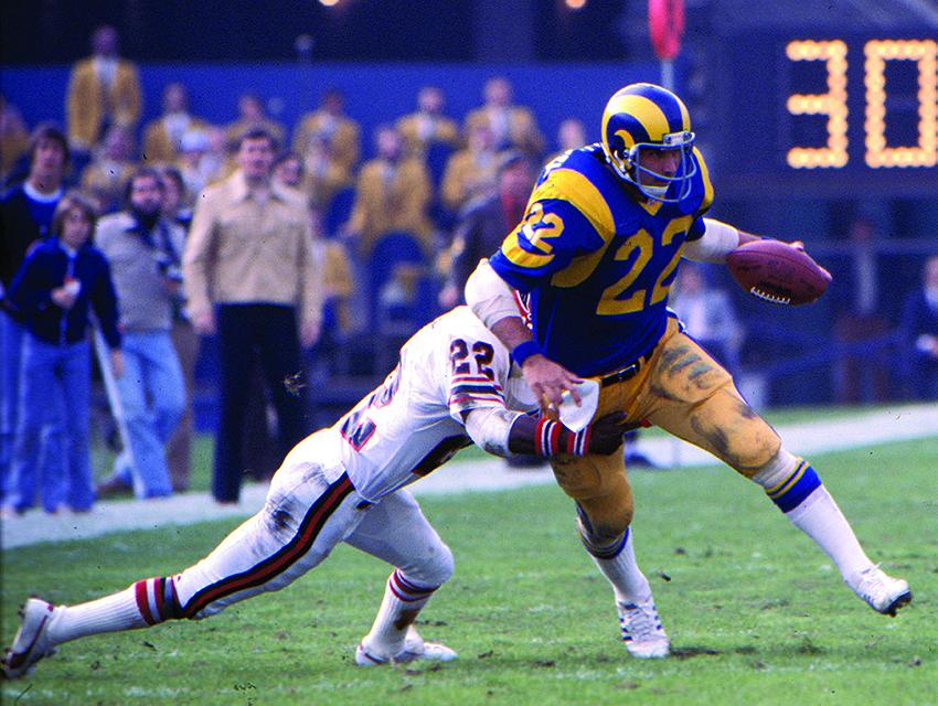 Rams running back John Cappelletti in 1977