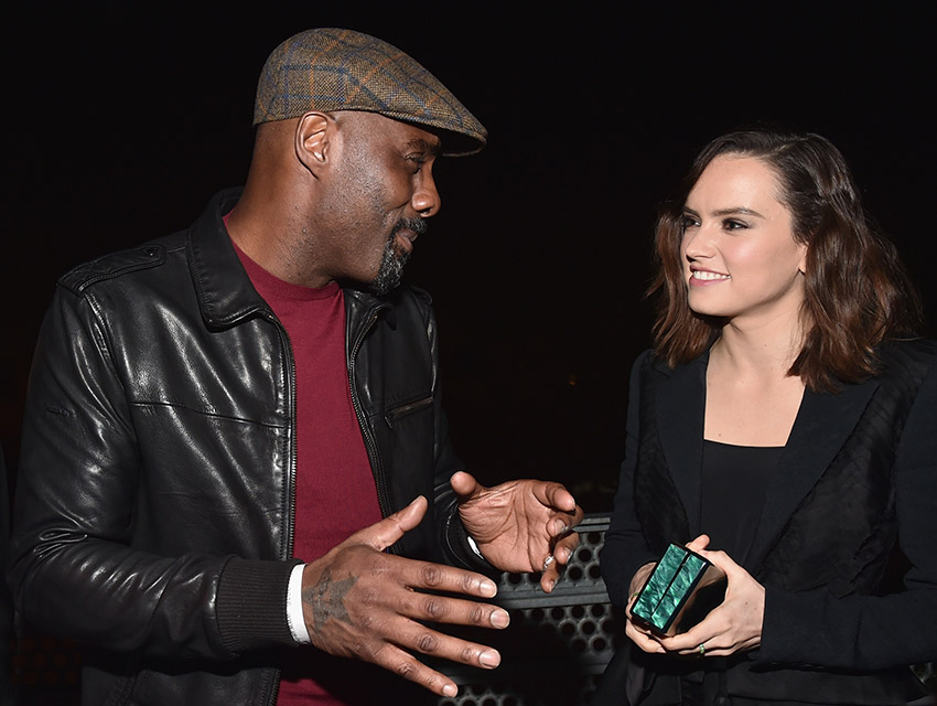 Idris Elba and Daisy Ridley