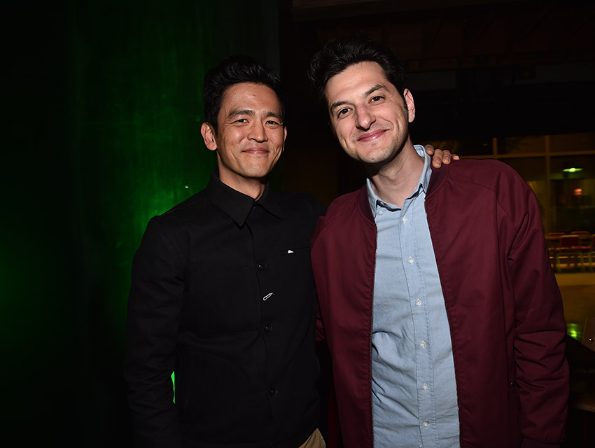 John Cho and Ben Schwartz