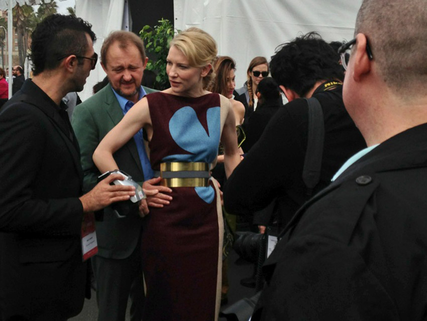 Cate Blanchett at the award show in 2014. Will she win again on Saturday?