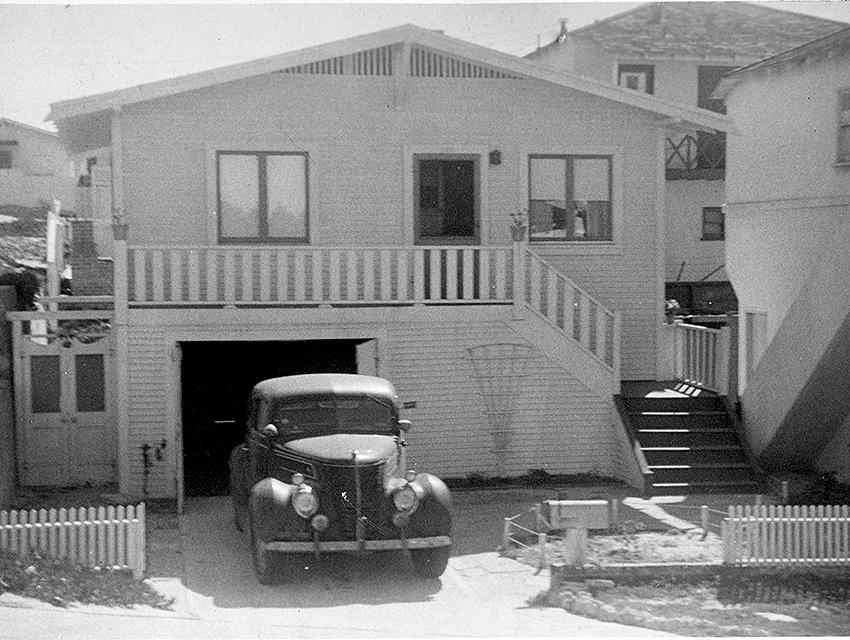 The house circa 1950