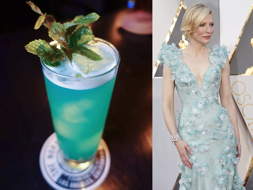 Normandie Club's Ol' Blue Eyes and Cate Blanchett