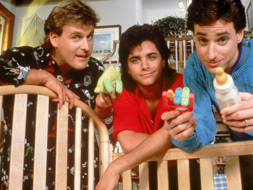 Coulier, John Stamos, and Bob Saget