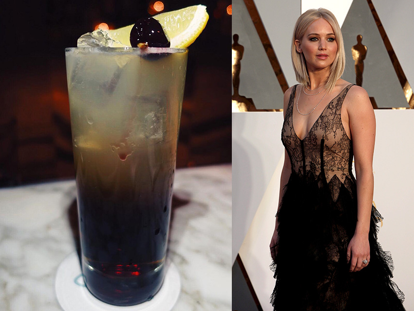 Viviane's Long Island and Jennifer Lawrence