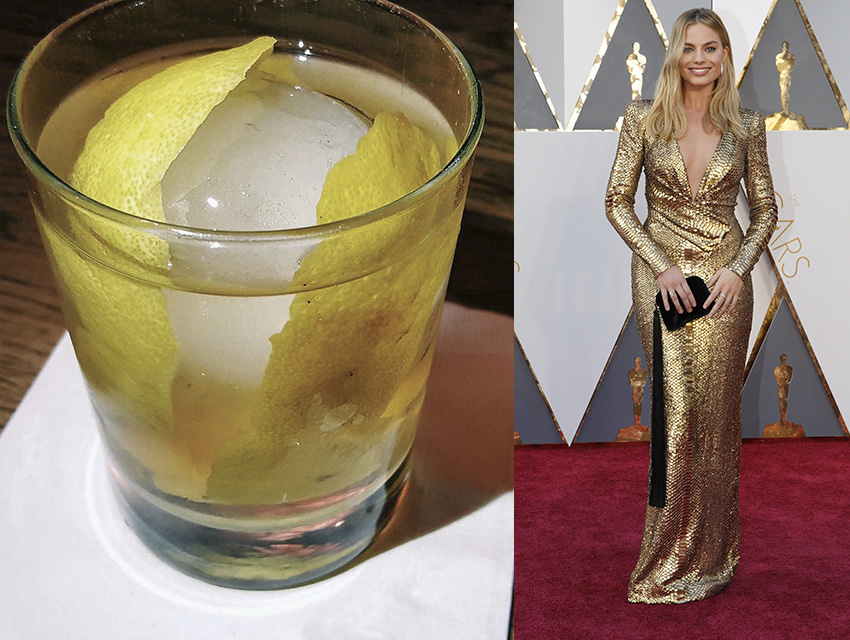 AOC's White Negroni and Margot Robbie