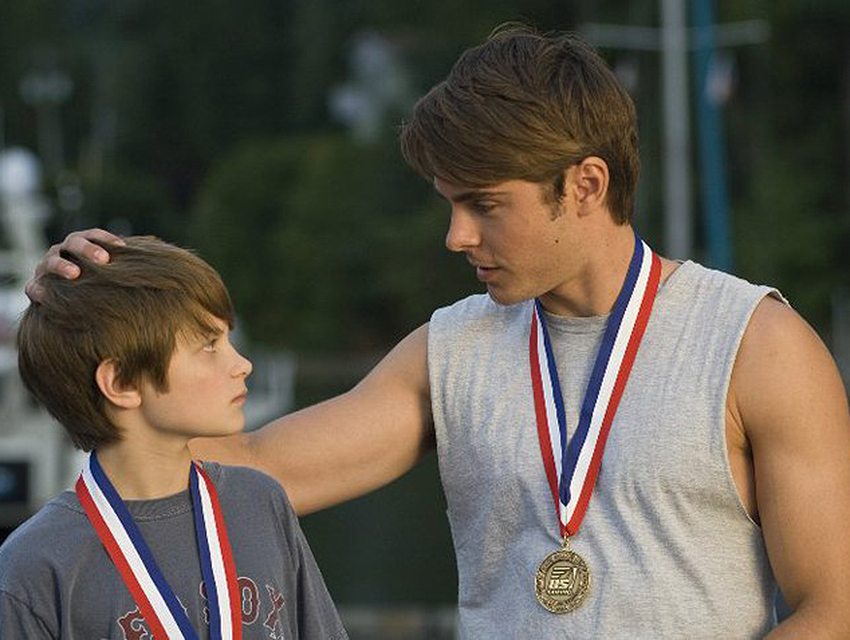 Any day I can work Zac Efron into a write up is a good day. This is his bicep in Charlie St. Cloud.