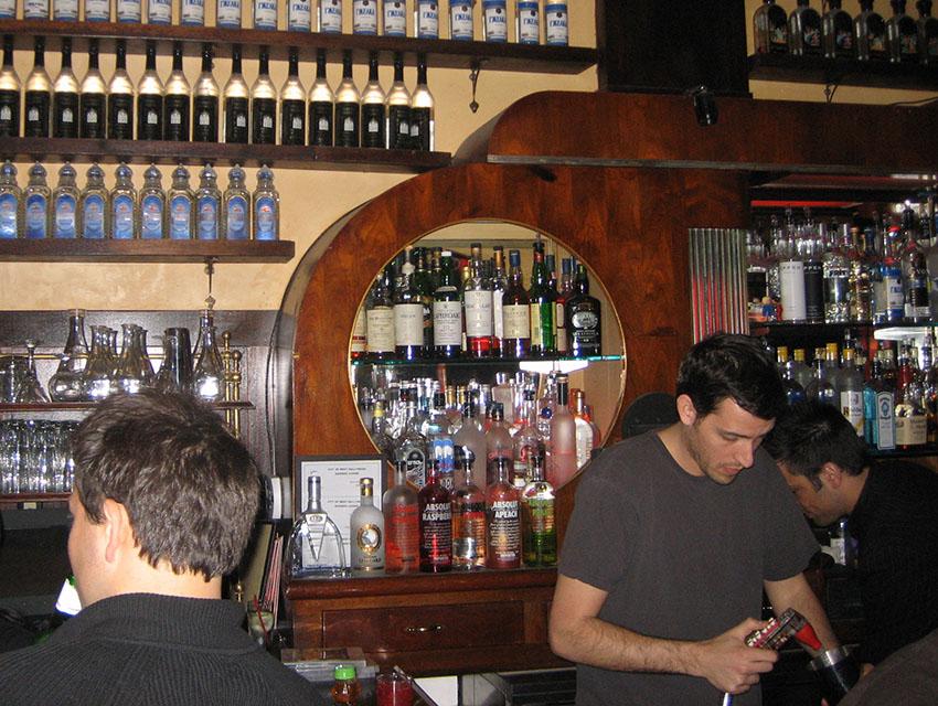 Bar Lubitsch and owner Jared Meisler circa 2007.