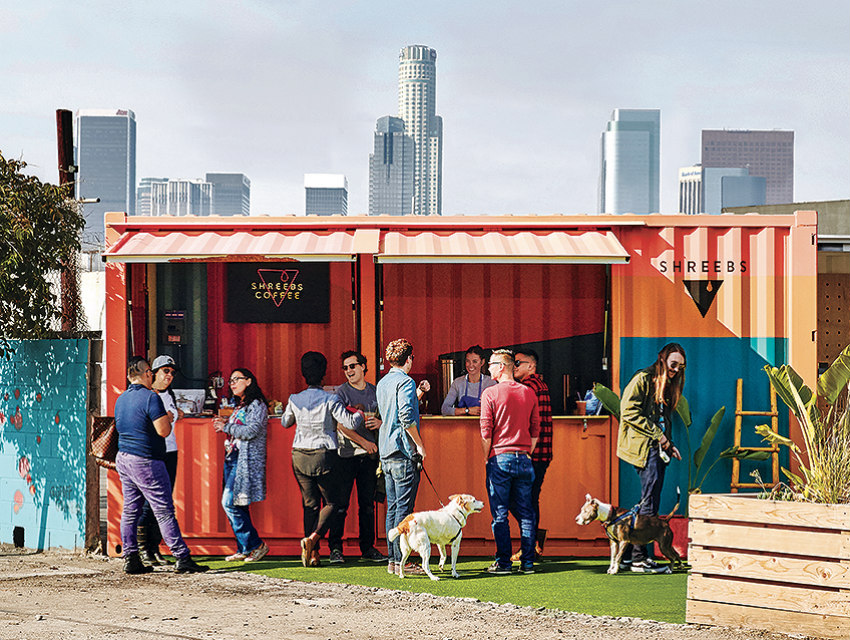 For Food Vendors Shipping Containers Are The Perfect Mix Of