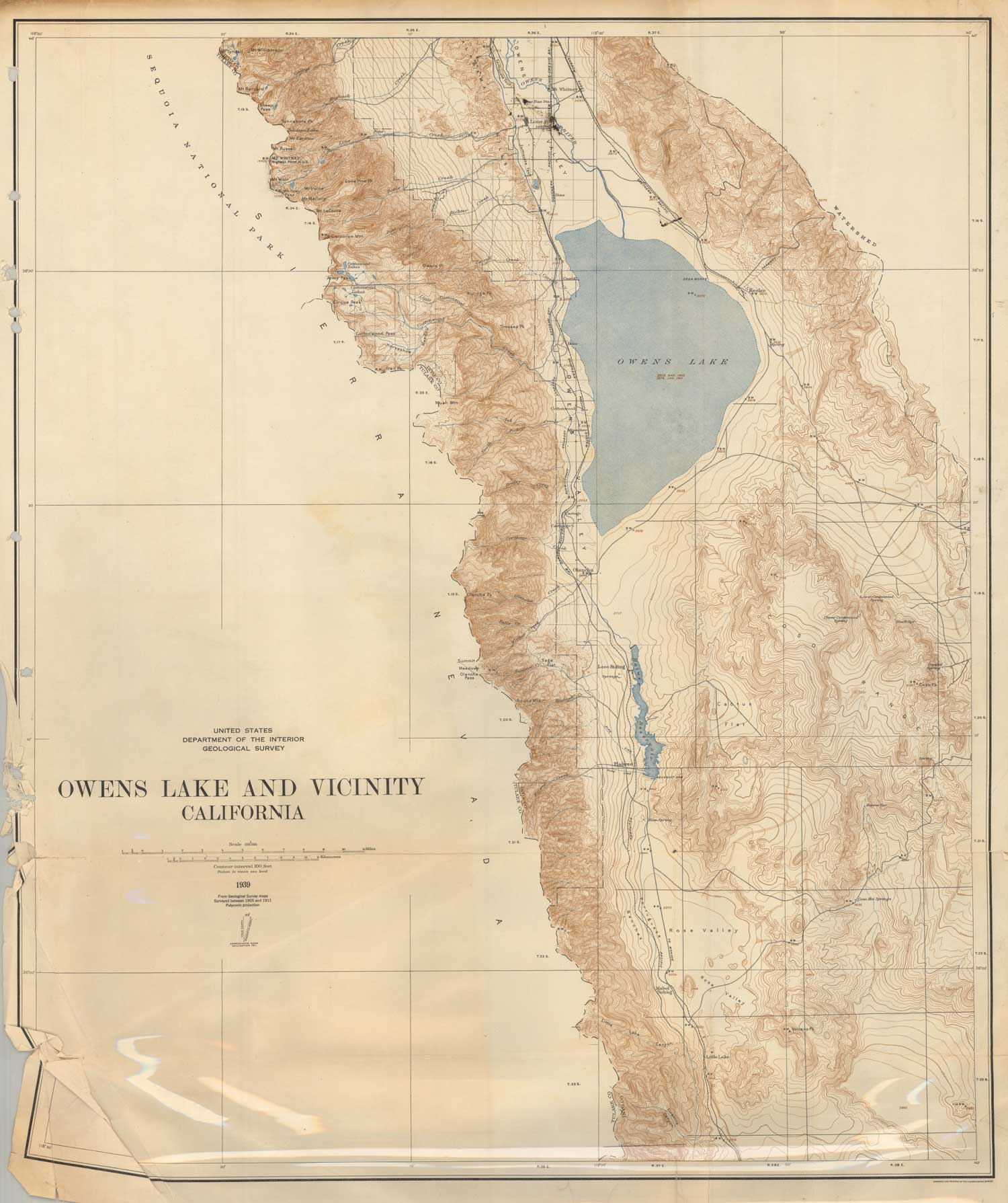 Citydig Here S What Owens Lake Looked Like Before Los Angeles Drank