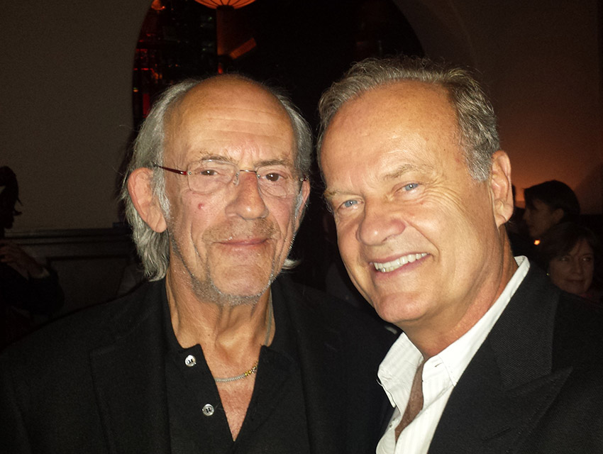 Christopher Lloyd and Kelsey Grammer