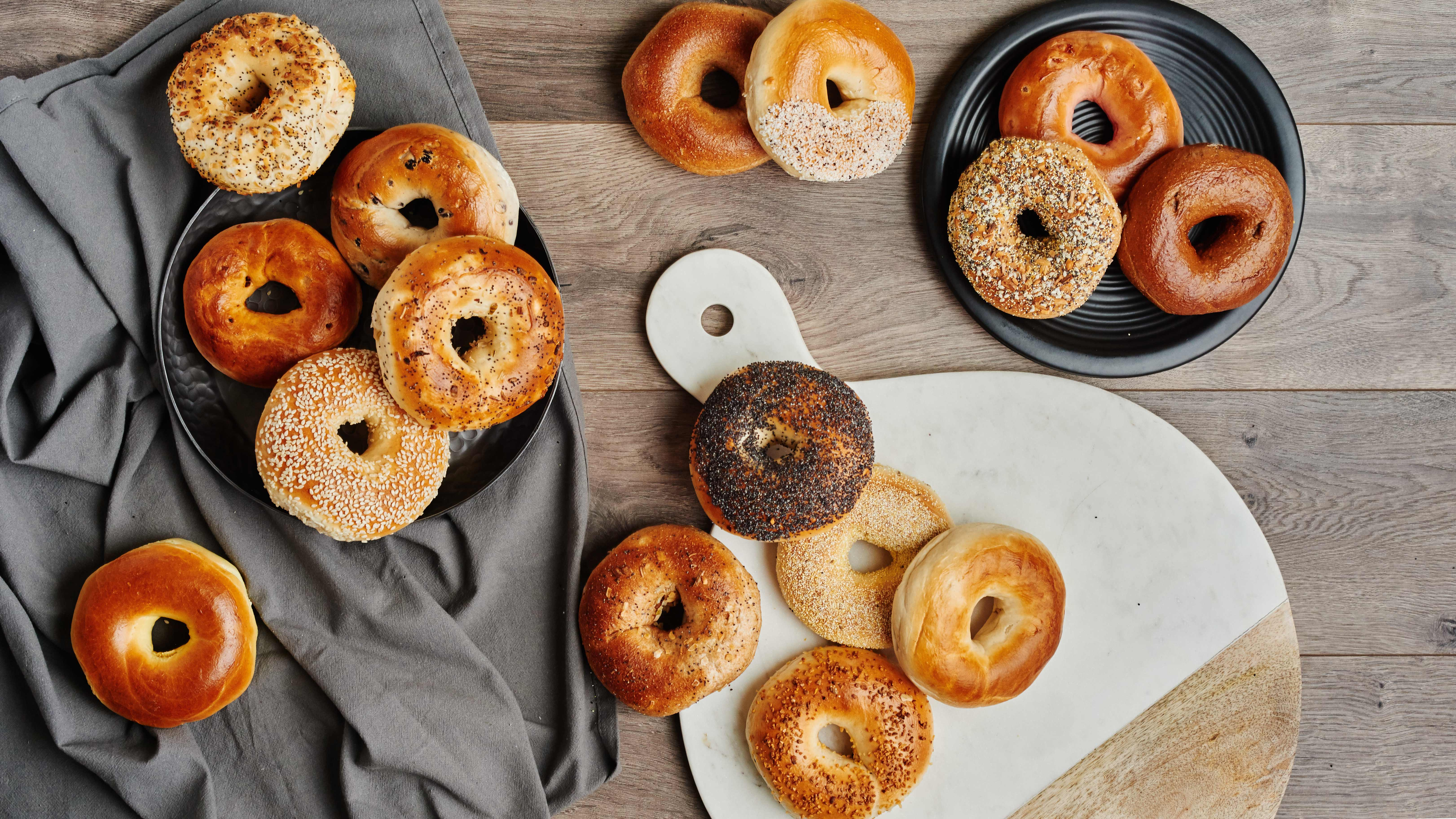 Western Bagel currently offers about 30 varieties of bagels