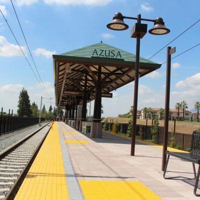 Azusa terminus station