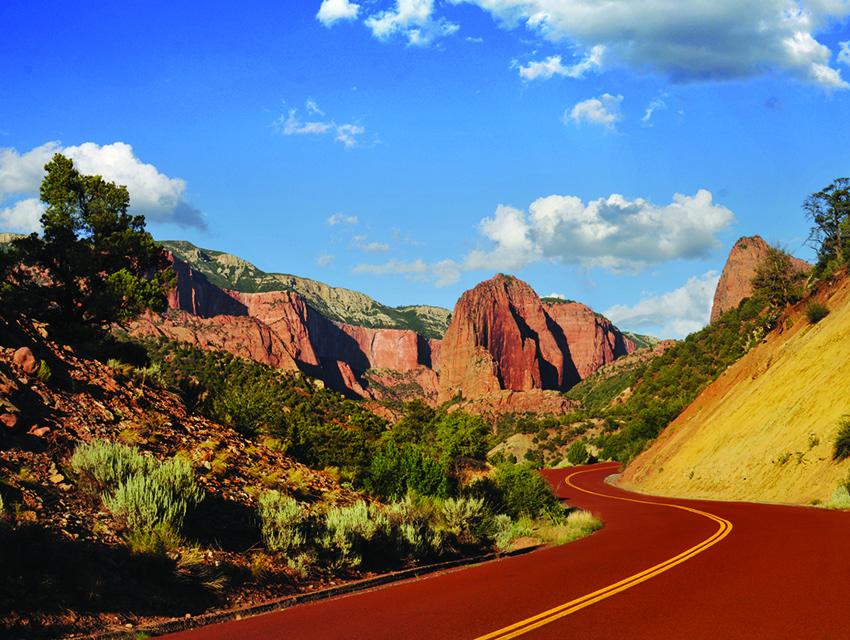 Kolob Canyon Road