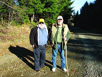 Franklin Hoffman (left) and Gary Barrett in 2007