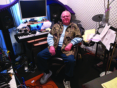Gary Brandt, who was an engineer at Sound City Studios when he was taken hostage, photographed earlier this year