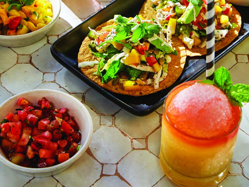 Vegan tacos at Gracias Madre