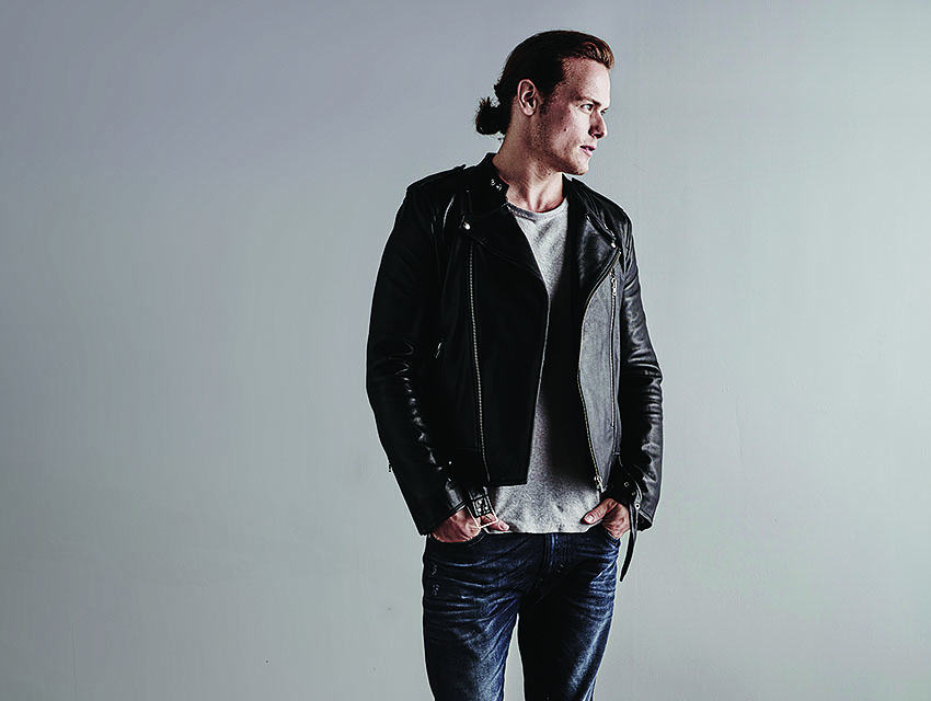 Sam Heughan On Upstaging Michael Fassbender and Ditching His Job in
