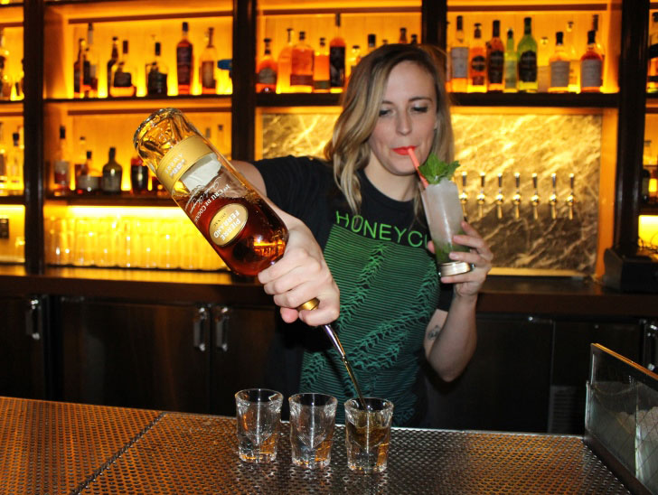 How to tell if a female bartender likes you
