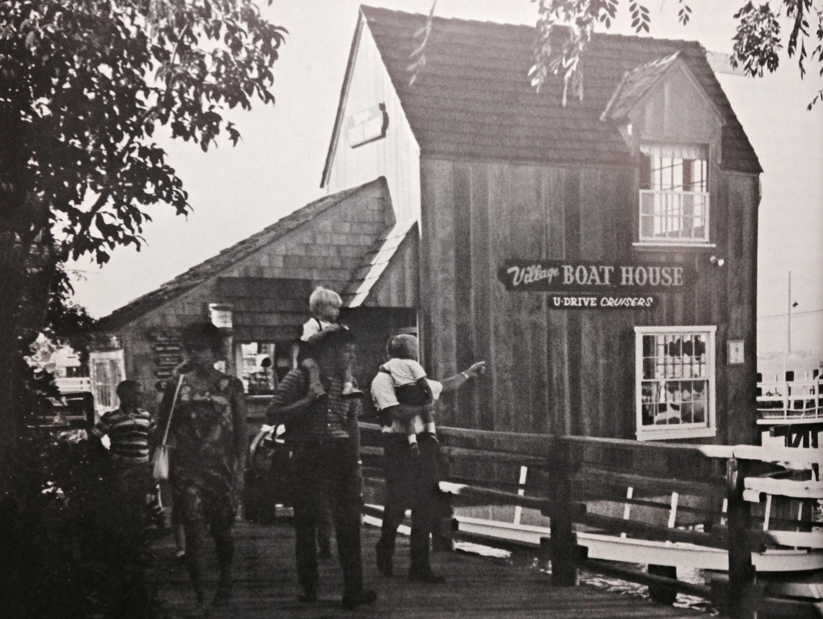 Ports O' Call Village in San Pedro, 1966