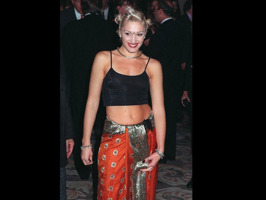 Gwen Stefani at the Race to Erase in 1997