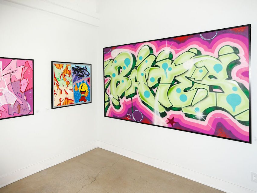 College Of New Rochelle >> Bates' California Dreaming at Buckshot Gallery Showcases