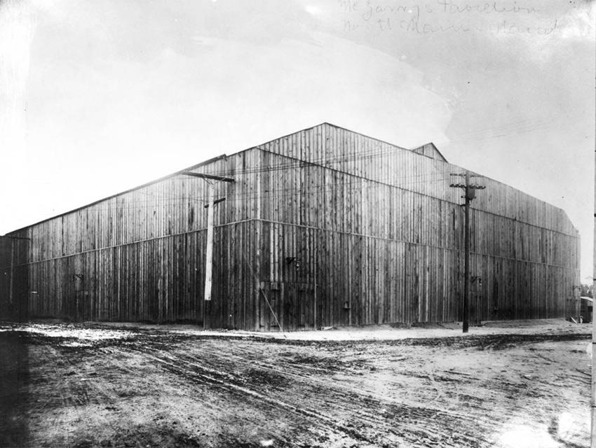Naud Junction Arena, 1910
