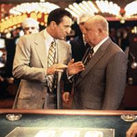 With Robert De Niro in Casino (1995)