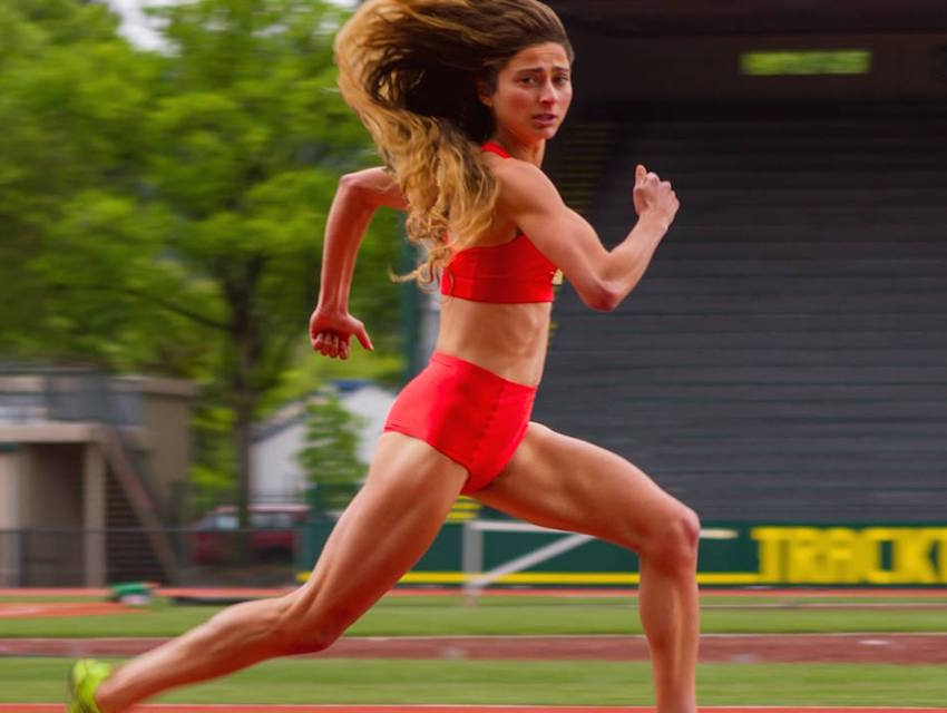 """Alexi Pappas in """"Tracktown"""""""