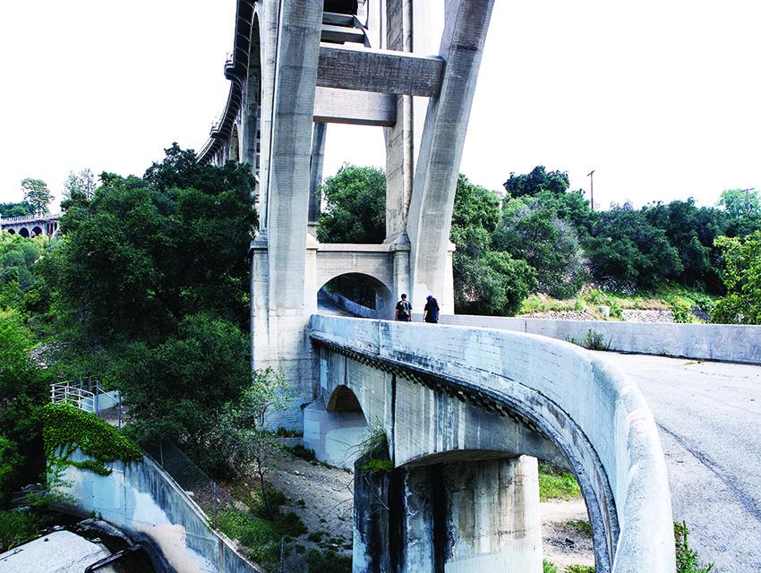 The Colorado Street Bridge in Pasadena