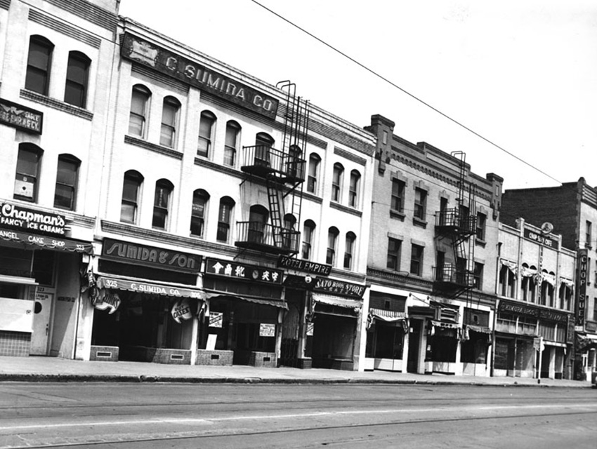 1st street in Little Tokyo—deserted after relocation