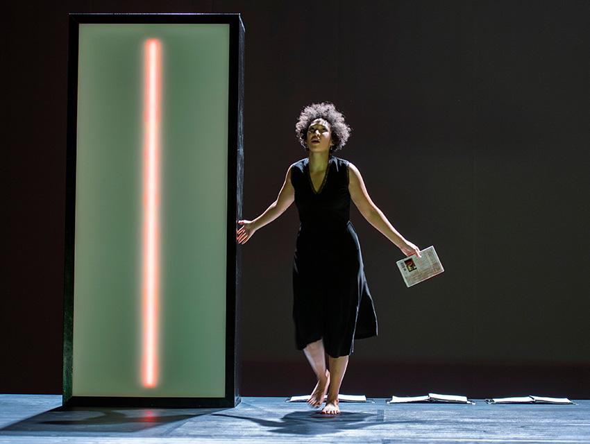 Soprano Julia Bullock in composer Kaija Saariaho's Le Passion de Simone