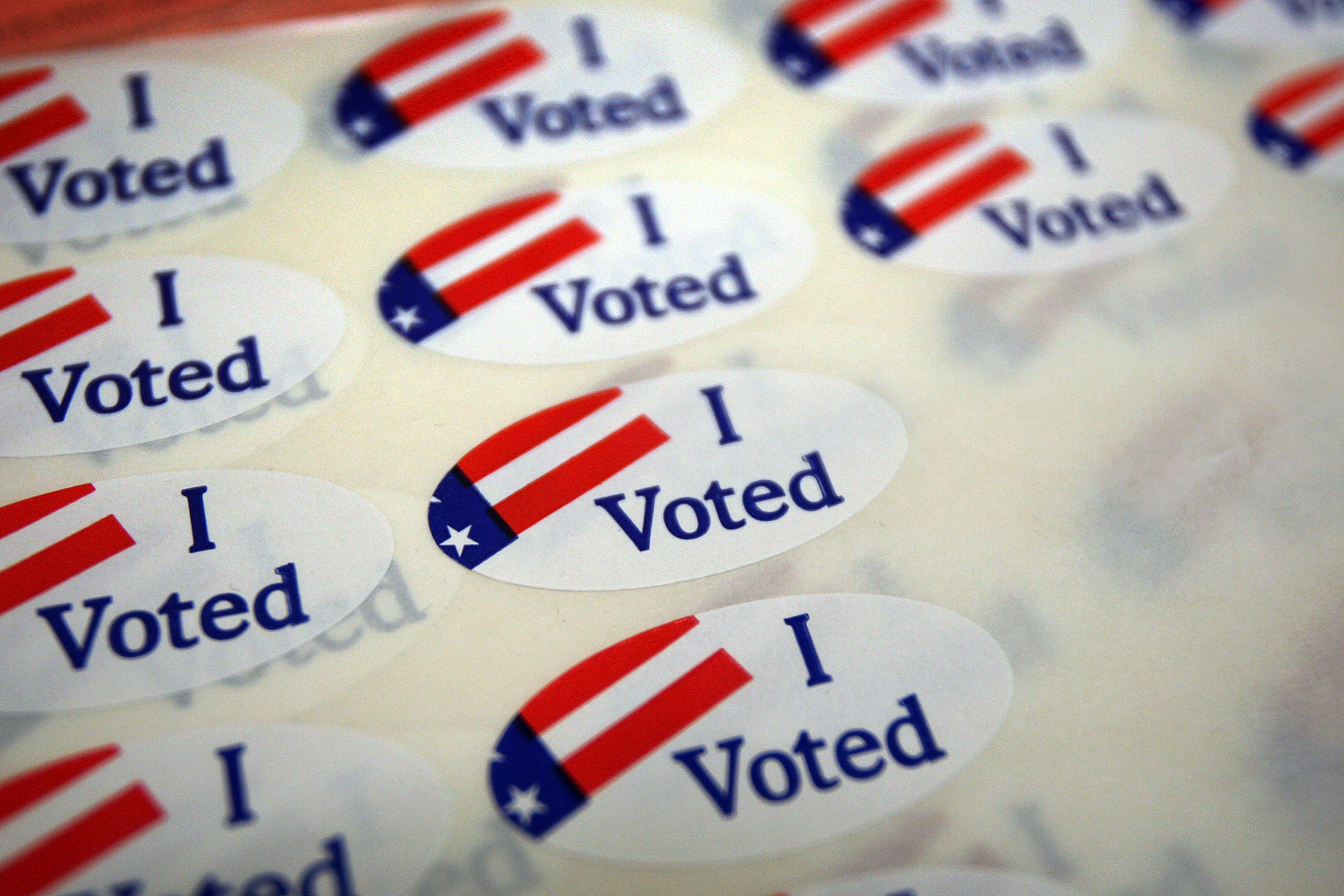 voter sticker election day deals campaign politics