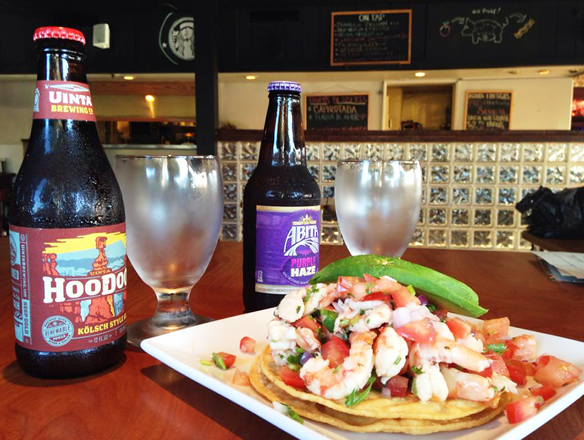 Tacos and beer are both done right at Bizarro Capital in Whittier.