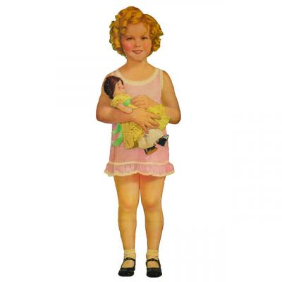 Shirley Temple paper doll from the Marvin Paige collection